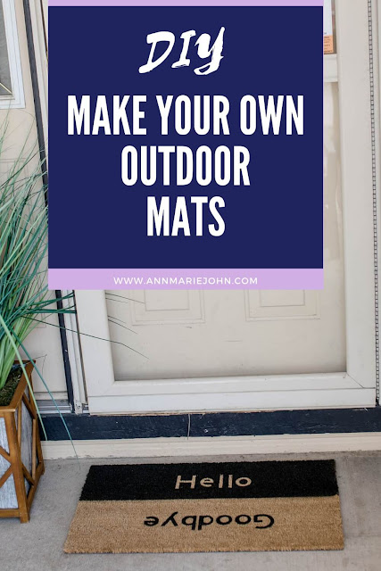 Make Your Own Outdoor Mats