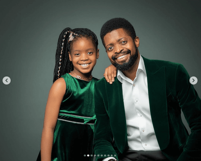 """""""Please tell your sons to stay away!"""" – Basketmouth says as he celebrates his daughter on her birthday"""