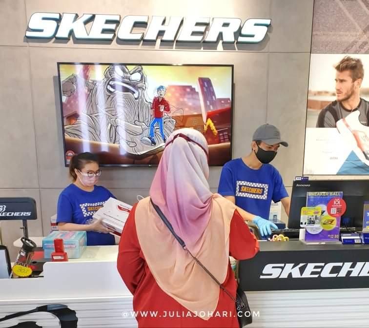 Skechers GoWalk6 Woman : Pertama Kali Beli Kasut Khas 'Walking' | Aku Kisah Berat Badan