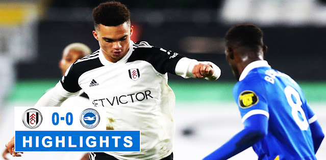 Fulham vs Brighton & Hove Albion – Highlights