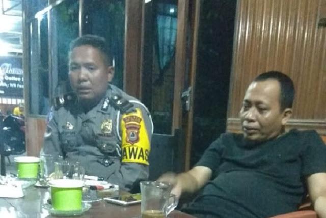 Silahturahmi Dengan Insan Pers, Iptu Arifin Nu'mang Ungkap Visi dan Misi Samsat