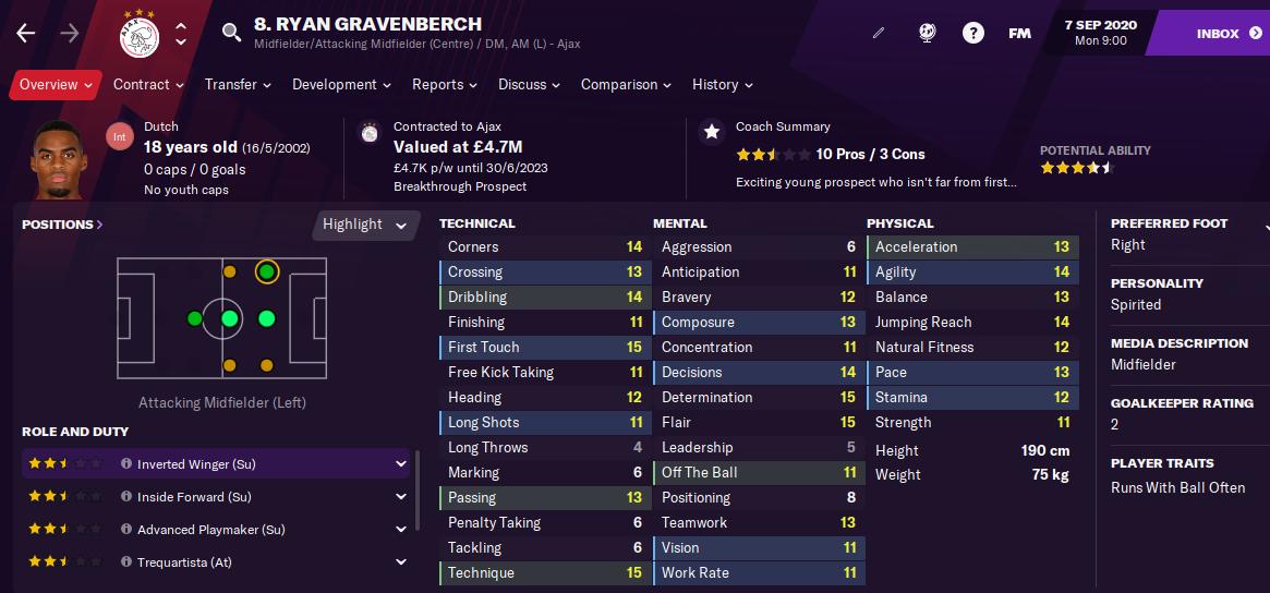 FM12 Ryan Gravenberch