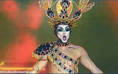 Drag Sethlas Drag  ganador Carnaval Las Palmas 2017,