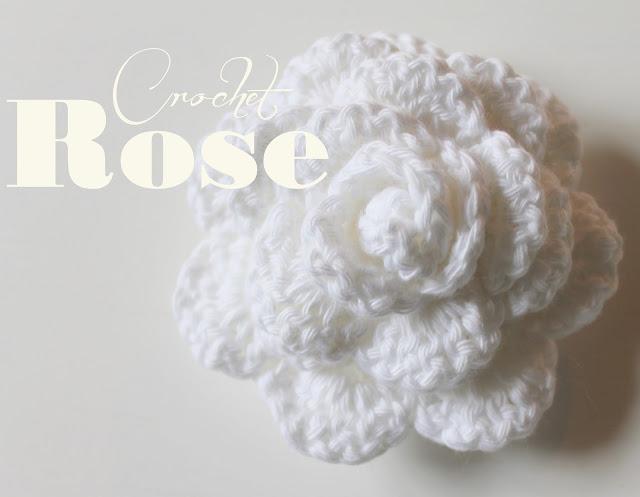 Create Your Life Crochet Rose Häkel Rose