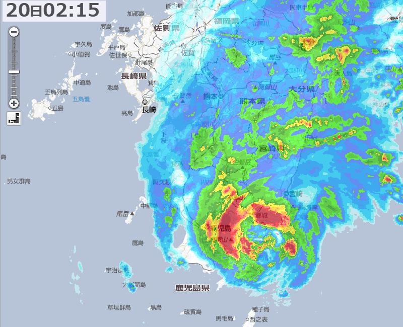 【台風】なんとかやり過ごせそうだ