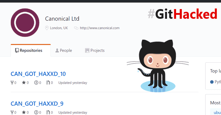 Ubuntu-Maker Canonical's GitHub Account Gets Hacked