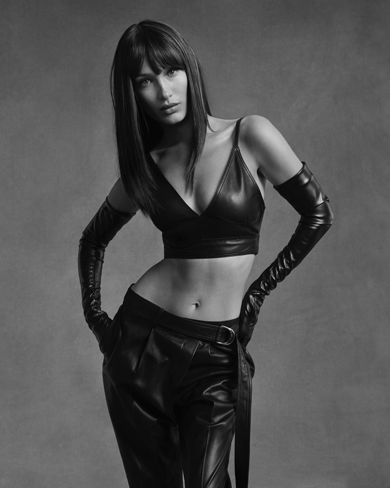Bella Hadid Channels the 90s in Helmut Lang Pre-Fall 2020 Campaign