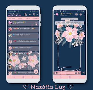 Flowers Theme For YOWhatsApp & Aero WhatsApp By Natalia Luz