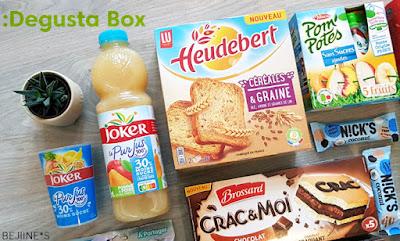 Unboxing DegustaBox de Février