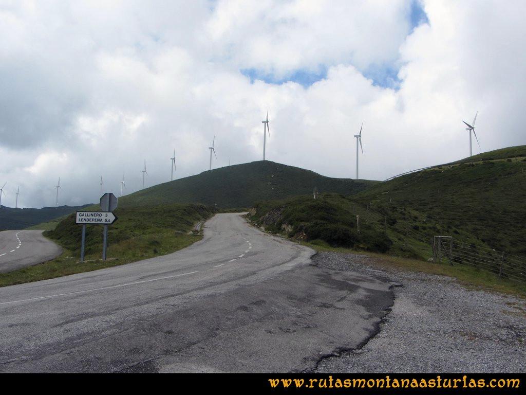 Ruta Llan de Cubel y Cueto: Inicio de la ruta