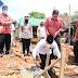 Walikota Metro Meletakan Batu Pertama Bedah Rumah ke-18 di Yosomulyo