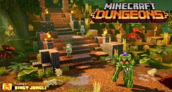 Cara membuka level rahasia Dingy Jungle di Minecraft Dungeons