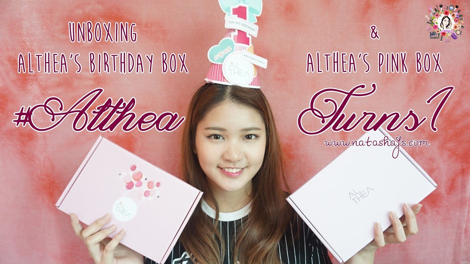 althea-birthday-indonesia-altheaturns1-pink-box-birthday-box-unboxing
