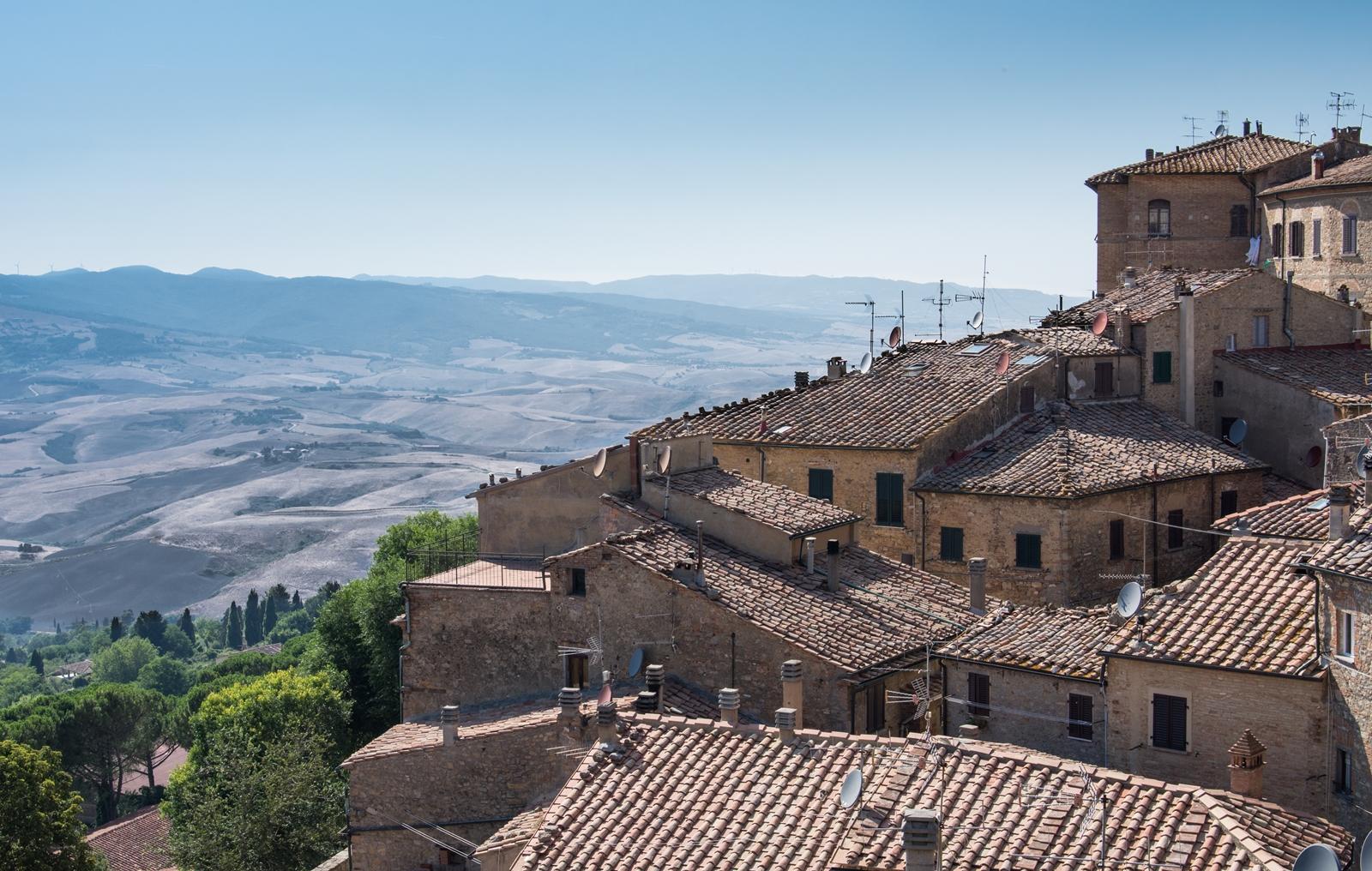 Blick von Volterra