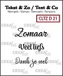 http://www.all4you-wilma.blogspot.com https://www.crealies.nl/nl/product/cltzd21
