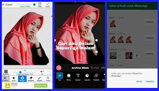 2 Cara Membuat Stiker Whatsapp Pakai Foto Sendiri Bloggerria
