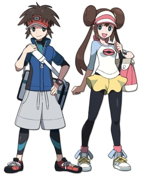 Black And White 2 Pokemon Characters