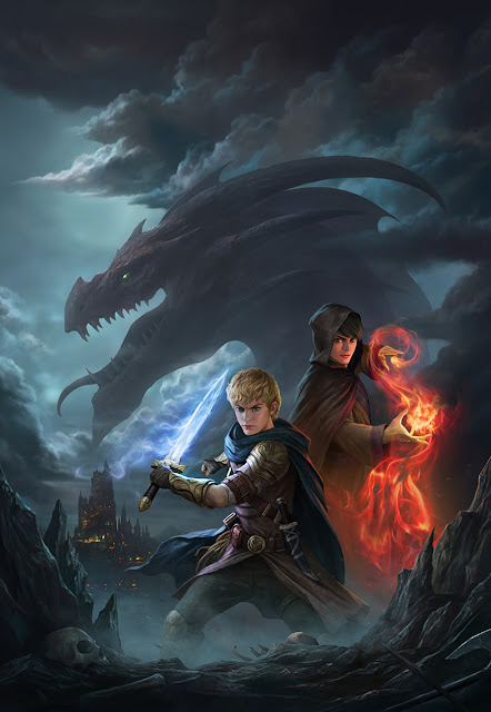 The Dragon Hunter And The Mage
