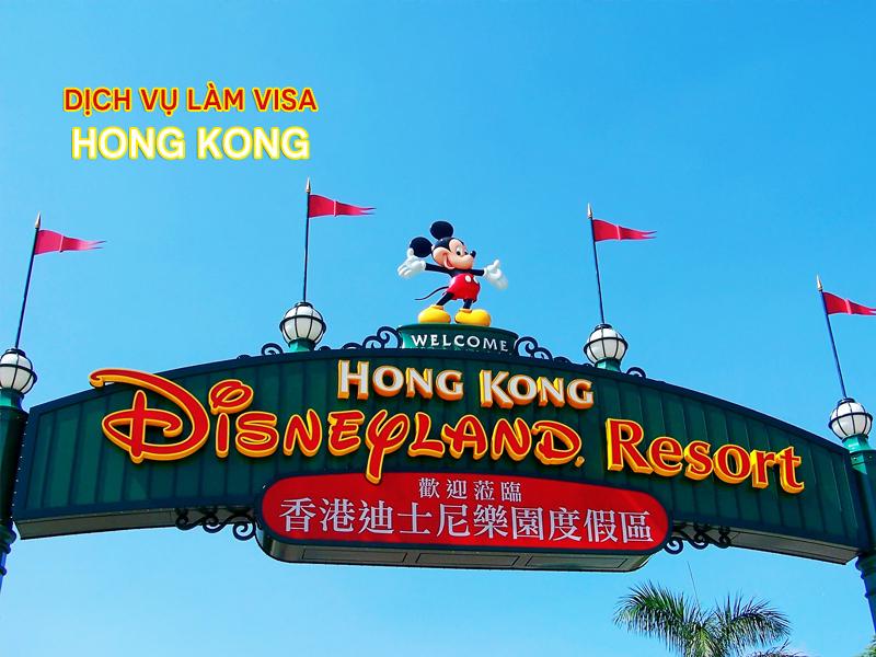 Làm visa đi Hồng Kông nhanh