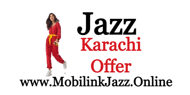 Jazz Karachi Monthly Package