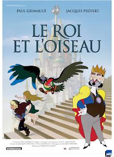 grand classique dessin animé à voir enfant jeunes petits roi et oiseau prevert