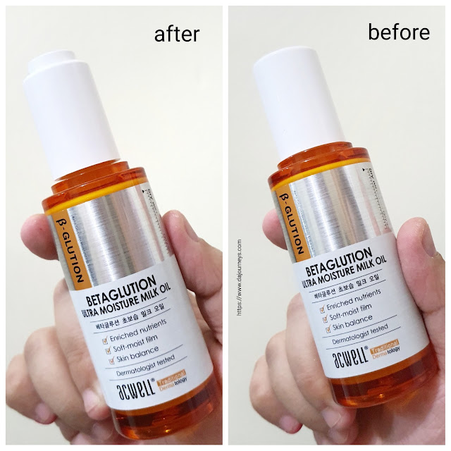 [Review] ACWELL Betaglution Ultra Moisture Milk Oil