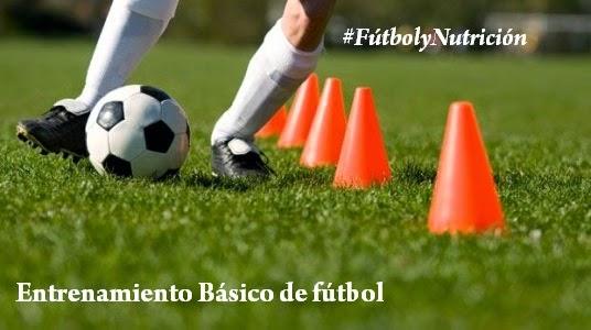 Entrenamiento básico para jugar fútbol
