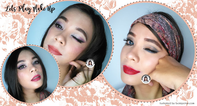 Make Up dengan eyeshadow Sariayu Krakatau
