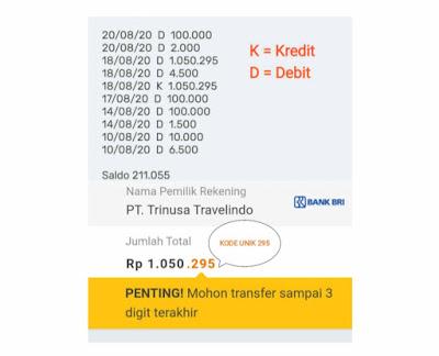 Print Ulang Struk ATM BRI