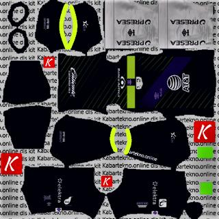 Club Puebla 2020 GK Home Kits DLS 2021