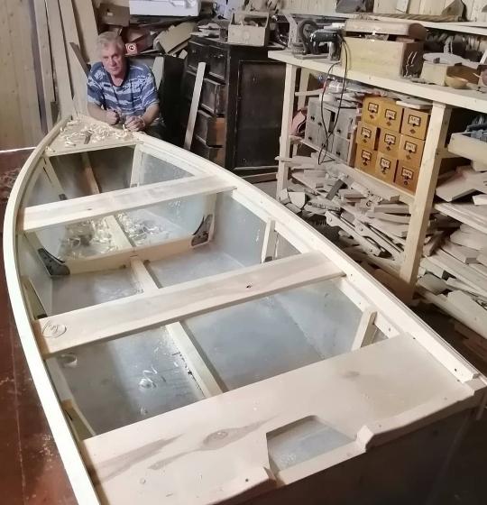 строительство самодельной лодки