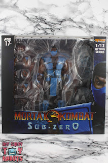 Storm Collectibles Mortal Kombat 3 Classic Sub-Zero Box 01