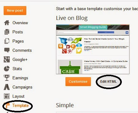 Create Sticky Floating Widget In Blogger