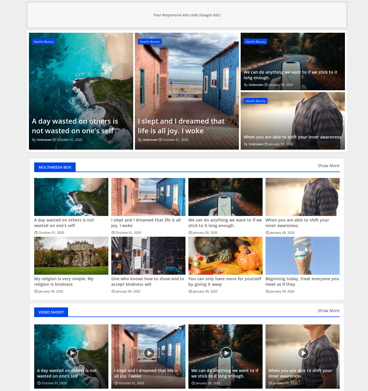 Newsiki  News And Responsive Blogger Template