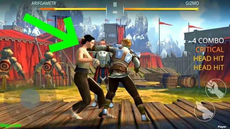 İyi bir Shadow Fight oyuncusu olmak için hareketlerinizi kombolara bağlamayı öğrenmelisiniz.