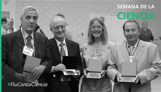 Pustovoit Award, Fargo/USA, 2004. Dr Gian Paolo Vannozzi/Italy, Dr José Fernández Martínez/Spain, Dr Felicity Vear/France & Dr Florin Stoenescu/USA