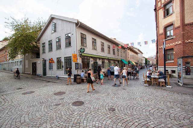 Quartiere di Haga-Goteborg