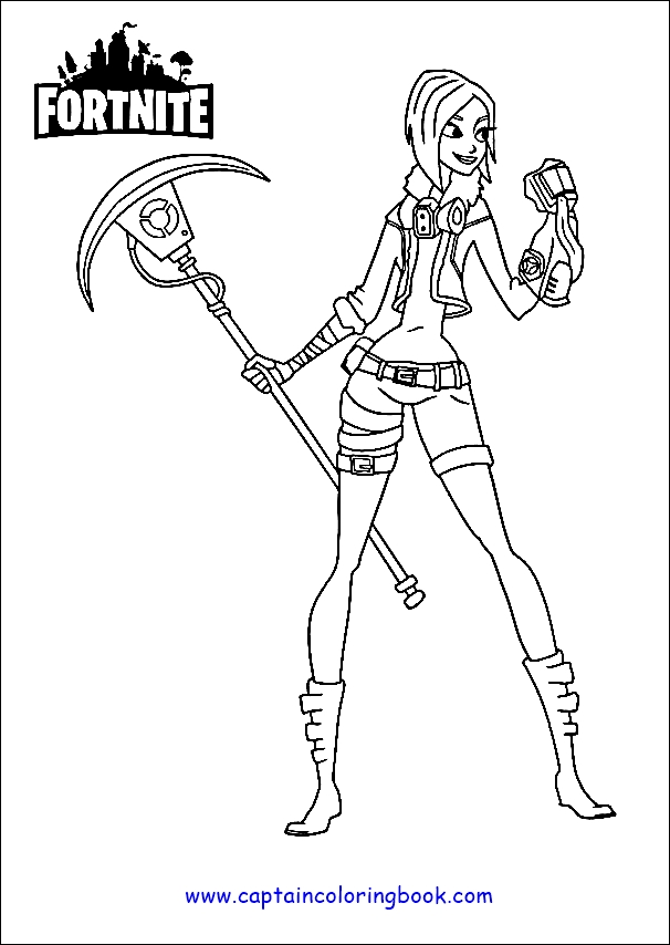 Printable Coloring Fortnite Coloring Pages Chapter 2