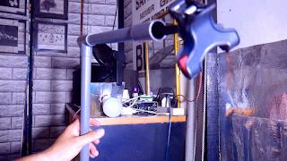 trik cara diy overhead tripod dari pipa paralon
