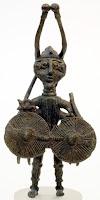 Bronzetto god of war