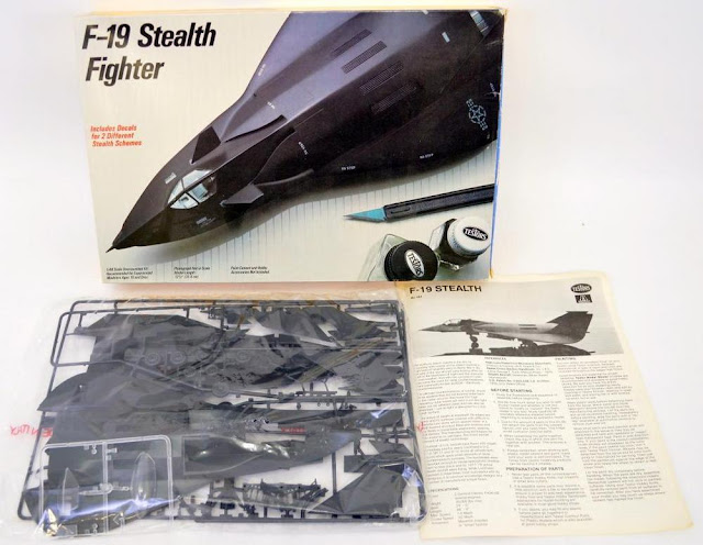 Testors F-19 Stealth