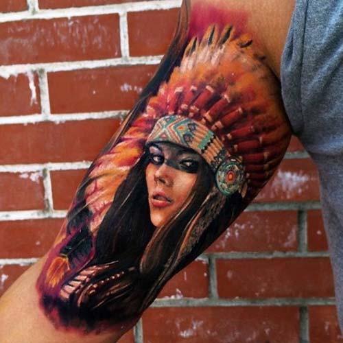 erkek üst kol dövme modelleri upper arm tattoos for men 2