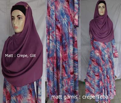 Model Gamis Jilbab Terbaru