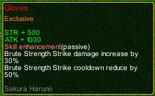 naruto castle defense 6.0 jiraya Gloves