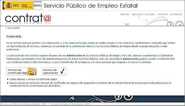 Asistente virtual para la contratación.