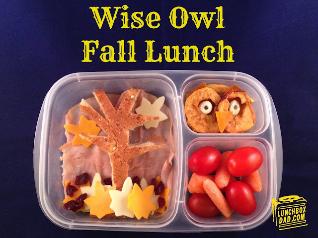 Wise Owl Fall Bento Lunch