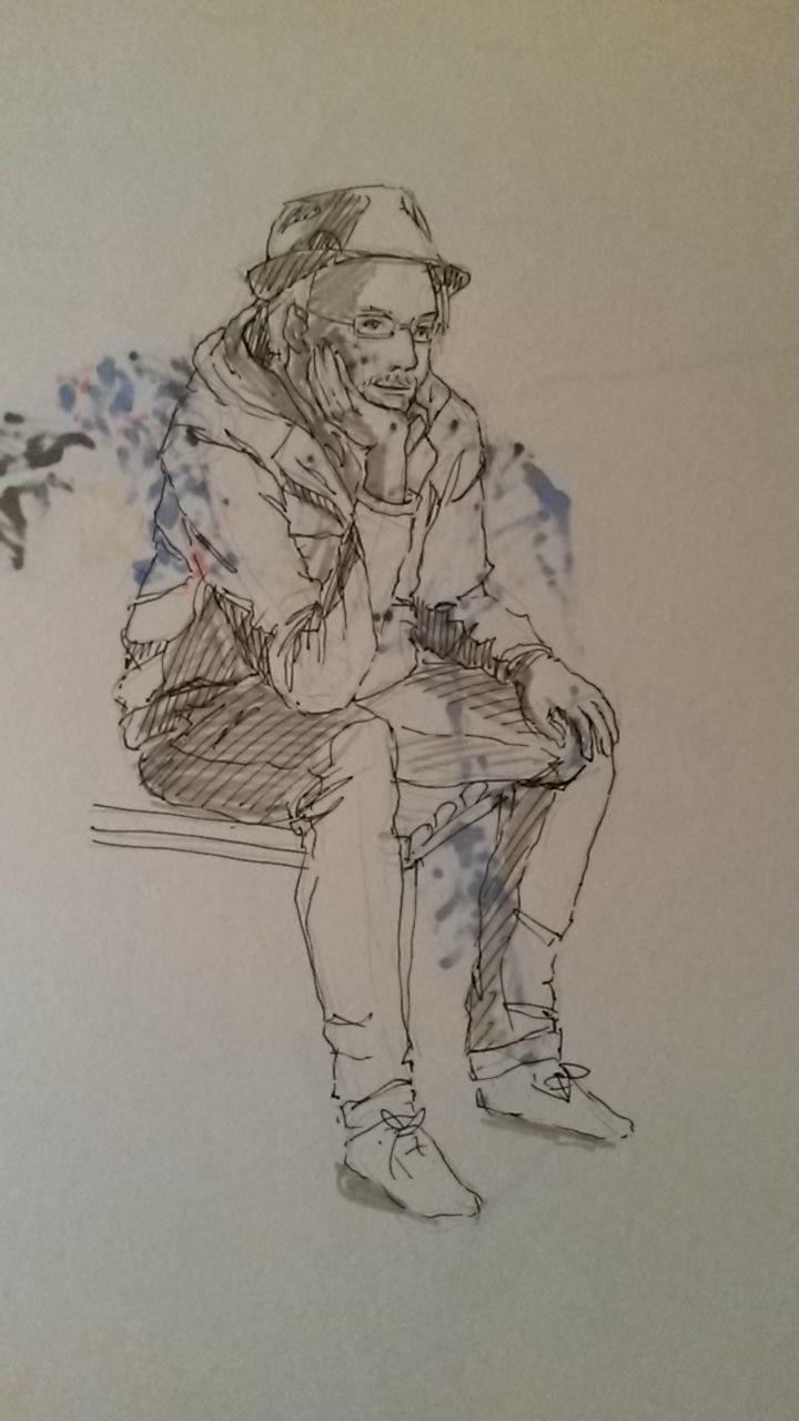 remembering florian afflerbach urban sketchers