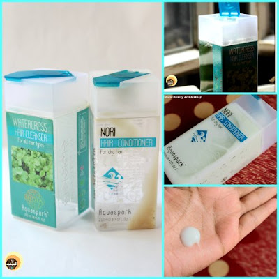 Product Empties – PART 2, The Nature's Co Watercress Shampoo and Nori Hair Conditioner on NBAM blog