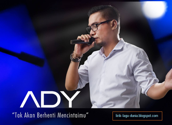 foto Ady mantan vokalis Naff