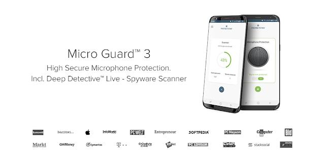 تحميل برنامج Micro Guard 3 PRO - Microphone Blocker Full 4.1 - منع التسجيل غير القانوني للصوت و التجسس